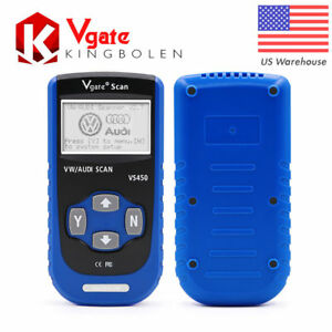 Vgate Vs450 Car Diagnostic Tool Obdii Eobd Scantool Code Reader Fit For Vw Audi