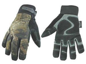 Youngstown 05 3470 99 l Camo Waterproof Winter Gloves Large