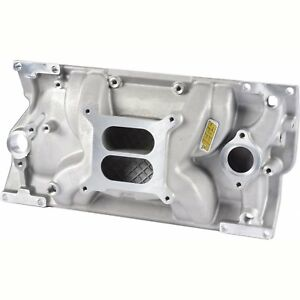Jegs 513002 Intake Manifold Small Block Chevy With 1996 Up Vortec L31 Cast Iron
