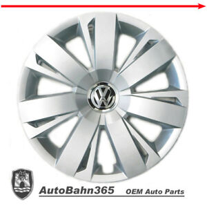New Genuine Oem Vw Hub Cap Jetta Sedan 2011 2014 14 Spoke Cover Fits 16 Wheel