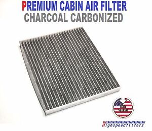 Premium Charcoal Carbon Cabin Air Filter For 2015 2016 2017 2018 2019 Ford Edge