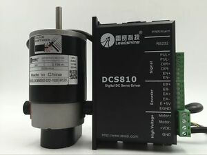 Leadshine Dc Brushed Servo Motor Drive 50w 120w Differentia 0 15nm 0 25nm 0 35nm