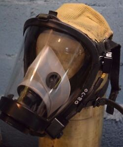 Survivair Sperian Scba Fire Rescue Respiratory Mask Twenty twenty Plus W Rcs