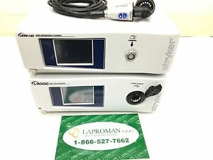 Stryker 1288 Hd Urology Complete W L9000 Led Light Source Endoscopy