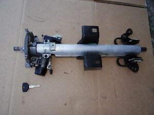 Jeep Wrangler Tj Steering Column With Key 1997 To 2000 Oem