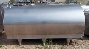 1000 Gallon Mueller o 74182 Stainless Steel Bulk Milk Cooling Farm Tank