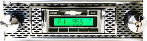 1955 Chevy Bel Air Nomad Am Fm Stereo Radio Usa 230 200 W Aux Input