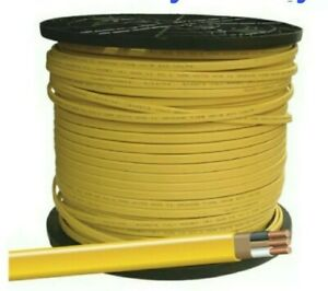 12 2 W ground Romex Indoor Electrical Wire 50 Feet yellow Or Pink