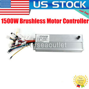 48v 72v Electric Bicycle Brushless Motor Controller For E bike Scooter 1500w