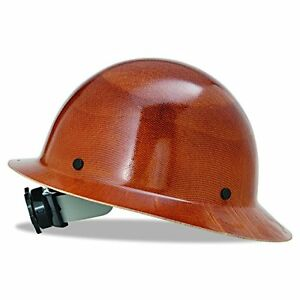 New Msa 475407 Natural Tan Skullgard Hard Hat With Fas Trac Suspension