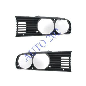Bmw 3 E30 82 91 Front Grille Left Right Pair Euro 51131876092 51131876091