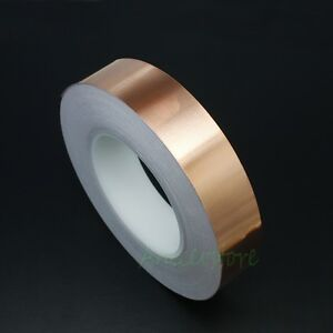30mm X 50m 164 Feet Emi Shielding Single Conductive Adhesive Copper Foil Tape