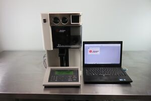Beckman Coulter Z2 Particle Counter With Keyboard Computer And Warranty