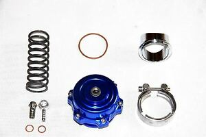 Xs Power Blow Off Valve Bov 50mm Blue W 11 Psi Spring Aluminum Flange