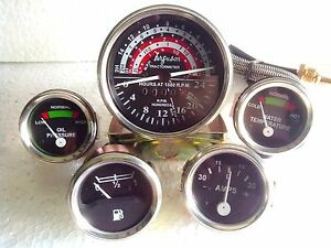 Massey Ferguson Tractor Gauge Kit Tachometer Anti Clockwise 35 133 135 140