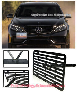 Eos Full Sized Front Tow Hook License Plate Bracket For 13 16 Mb W213 E63 Amg