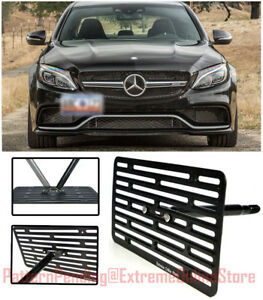 Eos Full Sized Front Tow Hook License Plate For 16 up Mb W205 C63 Amg Sedan