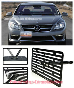 Eos Full Sized Tow Hook License Plate Bracket For 07 14 Mb C216 Cl class No Pdc