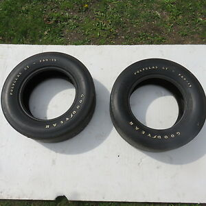 Sale Oem 1970 Mustang Boss 429 302 Original Goodyear Polyglass F60 X 15 Tires