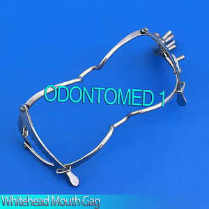 3 Whitehead Dental Mouth Gag 5 5 Surgical Instruments