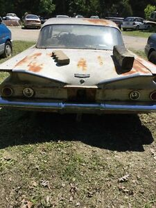 1960 Chevy Bel Air Trunk Lid Stainless Left And Right Moulding