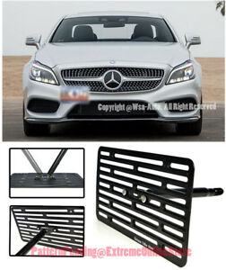 Eos Full Sized Front Tow Hook License Plate For 11 up Benz W218 Cls class