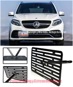 Eos Full Sized Front Tow Hook License Plate For 16 up Benz Gle63 Amg Amg S