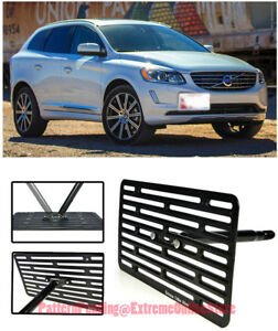 Eos Full Sized Front Bumper Tow Hook License Plate Bracket For 08 up Volvo Xc70