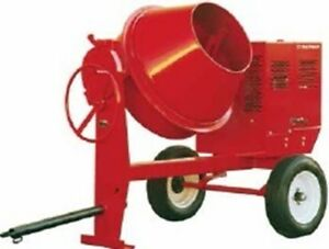 Multiquip Whiteman Mc94se Steel Drum Concrete Mixer Electric 1 5hp 115 230v 1