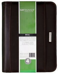 Day Runner Undated Burma Planner Brown 8 12 X 10 62 X 2 Inches 202 0204