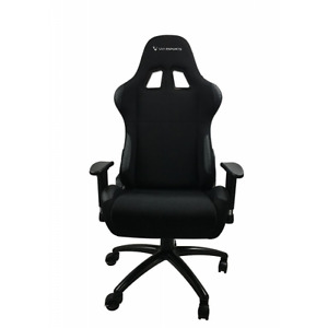 Uvi Chair Luxury Ergonomic Gaming Chair Back In Black