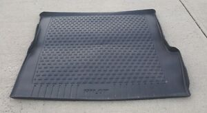 Honda Pilot Black All Weather Cargo Mat Trunk Tray Liner Oem 09 15