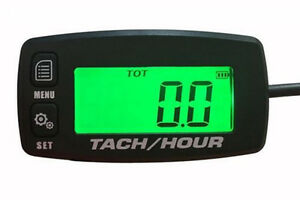Waterproof Tachometer Hour Meter Rpm Stihl Husqvarna Poulan Chain Saw Service