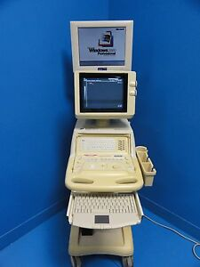 Toshiba Just Vision 400 Ssa 325a Diagnosic Vet Ultrasound W Computer
