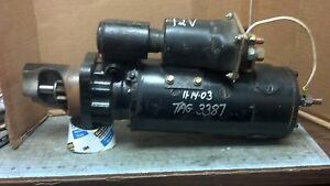 Delco Remy 12 Volt 40mt Starter For Cummins