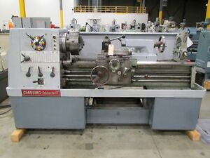 Clausing Colchester Mo 8050 Geared Head Straight Bed Engine Lathe 17 X 40