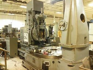 Wuhan Wy3j Vertical Gear Hobbing Machine New 1970 126 Max Diameter W tailstock
