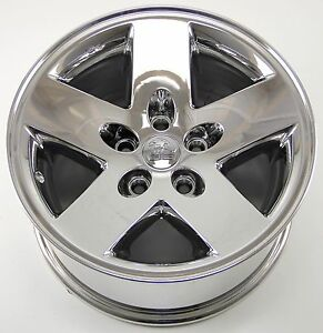 16 Jeep Wrangler Chrome Wheel Rim Factory Oem Replica 16x8 2004 2005 2006 9047