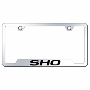 Ford Taurus Sho Mirrored Chrome Stainless Steel License Plate Frame