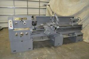 21 X 80 Mighty Turn Gap Bed Engine Lathe Model Ml 2180 gl With Accurite Dro