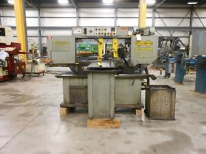 Hyd Mech Model S 20a Fully Automatic Cut Off Saw 13 X 18 New 1989