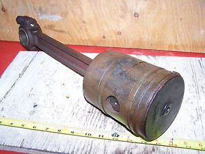 Old Rock Island Empire Alamo Hit Miss Gas Engine Piston Rod Magneto Ignitor Wow