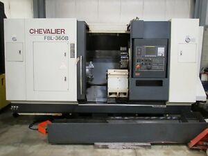 Chevalier Model Fbl 360b Cnc Lathe With Fanuc Oitd Control 15 Chuck