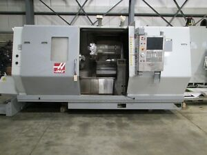 Haas Mo Sl 40 Cnc Lathe With Tailstock Haas Cnc Control New 2008