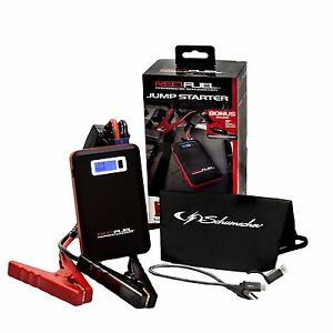 Red Fuel Sl161 Jump Starter With Smart Cables
