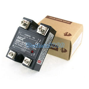 Solid State Relay Dc dc 3 32v Dc 5 250vdc Output 10a 25a 40a Single Phase Ssr