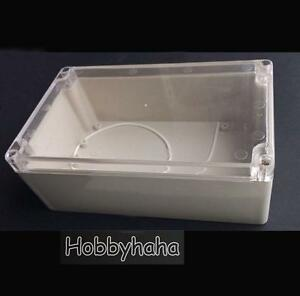 2pcs Transparent 230 150 85mm Electrical Instruments Plastic Box Diy