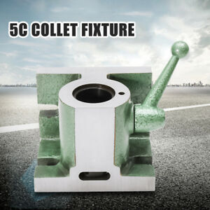 5c Horizontal Vertical Collet Fixture Holder Chuck Cam Operated Collets Usa