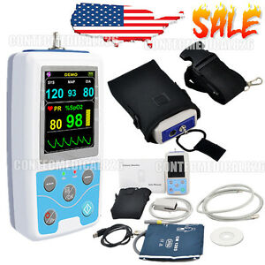 Vital Signs Monitor Patient Monitor Spo2 nibp pulse Rate 24hrs Ambulatory Nibp