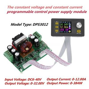 Dps3012 Lcd Programmable Constant Voltage Current Step down Power Supply Module